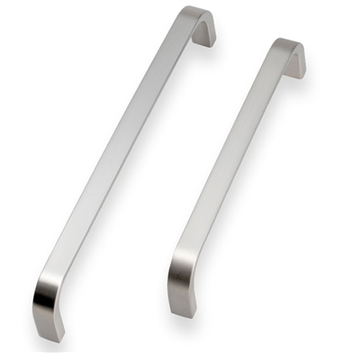 Contemporary D Handle (Brushed Nickel)
