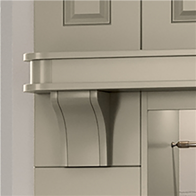 Corbal for Broad and Shallow Shelf
