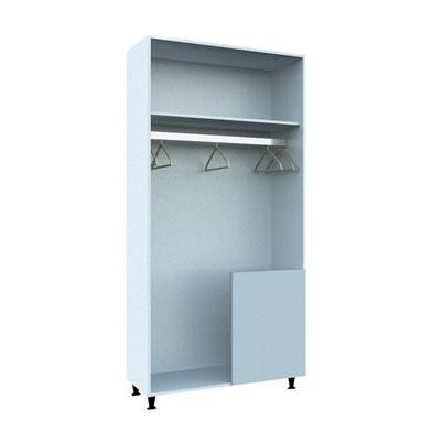 Corner Wardrobe with Stable Door