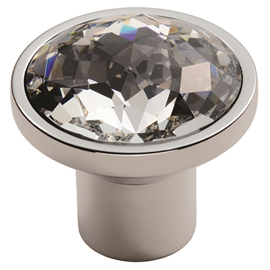 Crystal Round Knob