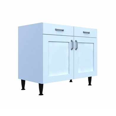 Kitchen units cabinets doors sincerely for Double kitchen base unit
