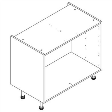 Drawer Double Base Unit