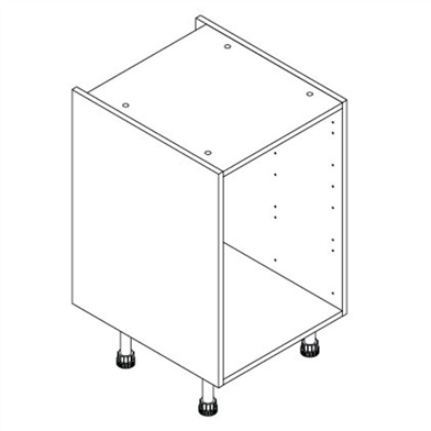 Drawer base unit for Kitchen cabinet lines