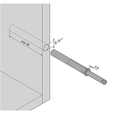 Fitting for Extended Tip On Adaptor