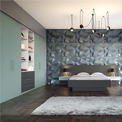 Valore Matt Fjord Bedroom