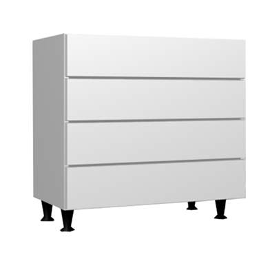 Four Drawer Chest (Metabox)