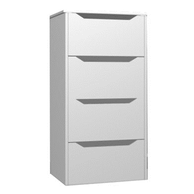 Four Drawer Internal Chest (Metabox)