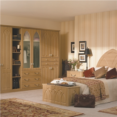 Bella Gothic Lissa Oak Fitted Bedroom