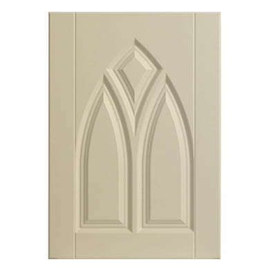 Gothic Ivory Sample Door Sample Door