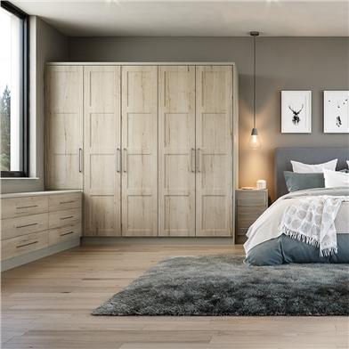 Bella Halifax White Oak Bedroom