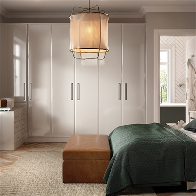 Bella High Gloss Cashmere Bedroom