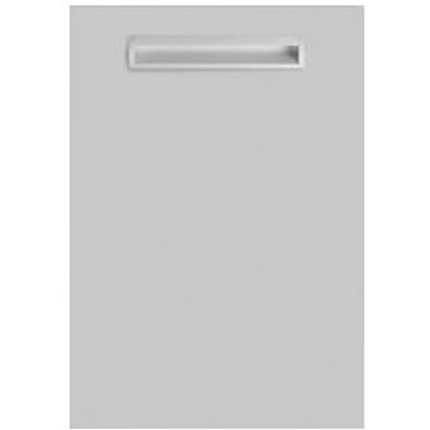 Inset Matt Dove Grey Sample Door