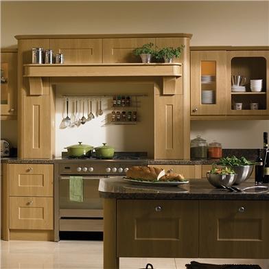 Bella Lissa Oak Kitchen