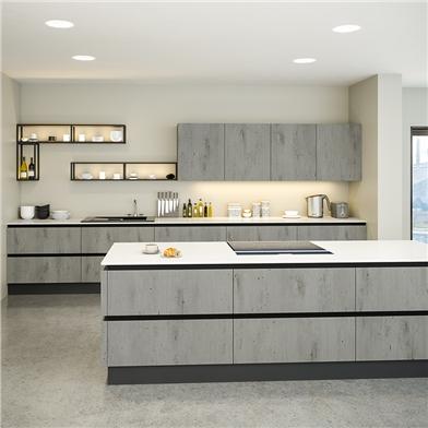 Bella London Concrete Kitchen