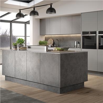 Zurfiz Magma Steel Kitchen