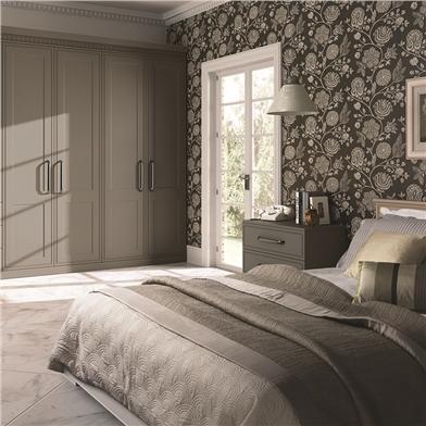 Bella Matt Stone Grey Bedroom
