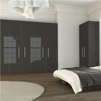 gloss wardrobe doors 1
