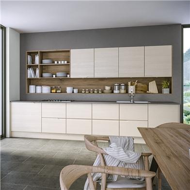 Bella Oakgrain Cashmere Kitchen