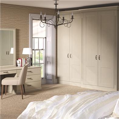 Bella Oakgrain Mussel Bedroom