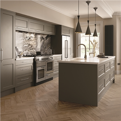 Richmond Fitted Kitchen Finished in Matt Taupe