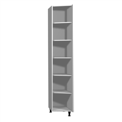 Robe End Shelving Unit