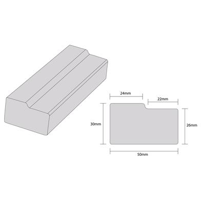 Square Bullnose Diagram