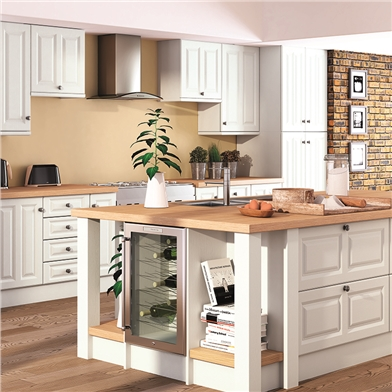 Super White Ash Kitchen