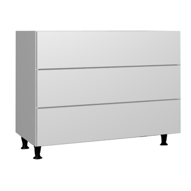 Three Drawer Chest (Metabox)