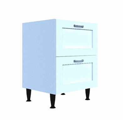 low-level-two-drawer-base