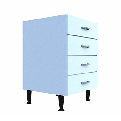 Drawer Base (Four Drawer Type: B)