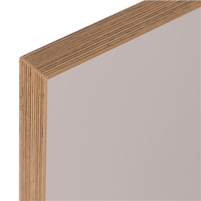Valore Panel with Plywood Effect Edge