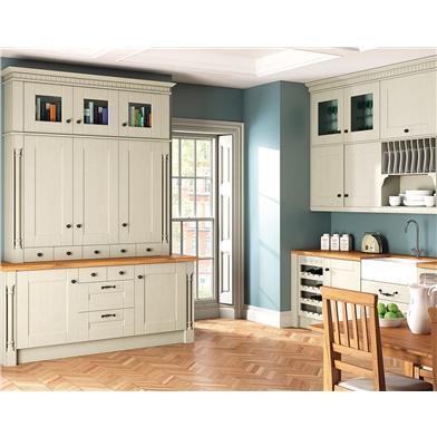 Oakgrain Mussel Warwick Fitted Kitchen
