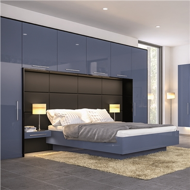 ultra-gloss-baltic-blue-bedroom