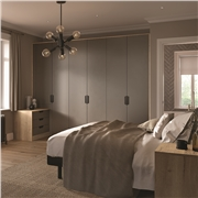Bella Matt Taupe Bedroom