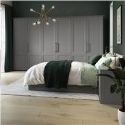 Bella Matt Dust Grey Bedroom