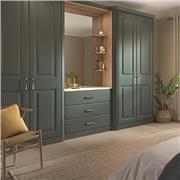 Bella Matt Kombu Green Bedroom