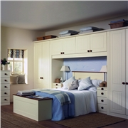 Fitted Bedroom with Newport Bedroom Doors Finished in Vanilla