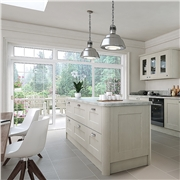 Bella Oakgrain Grey Kitchen
