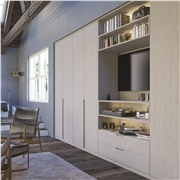 Bella Oakgrain Grey Bedroom