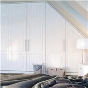 Bella Opengrain White Bedroom