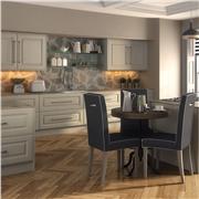 Oakgrain Mussel Palermo Fitted Kitchen