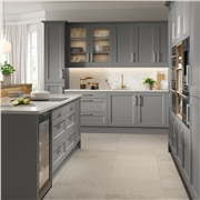 Richmond Fitted Kitchen Finished in Matt Dust Grey