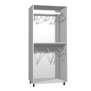 Wardrobe Double Hanging