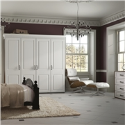 Bella Satin White Bedroom