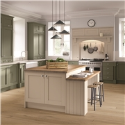 Shaker Fitted Kitchen Finished in Paintable
