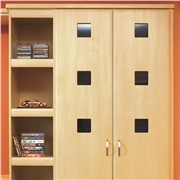 Square Hole Feature Door Frame