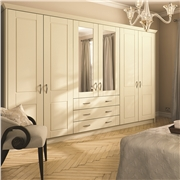 Bella Surrey Doors Finished in Alabaster