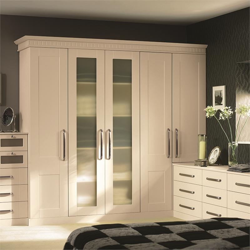... Bella Warwick Ivory Wardrobe Doors & Warwick Replacement Wardrobe Doors - Doors Sincerely
