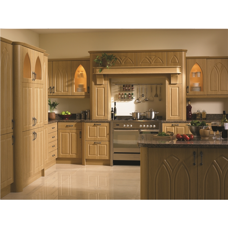 ... Lissa Oak Gothic Kitchen