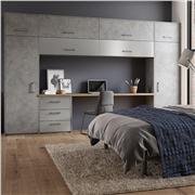 Zurfiz Magma Steel Fitted Bedroom